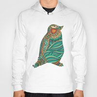 ethnic Hoodies featuring Ethnic Penguin by Pom Graphic Design