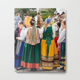 Traditions portugaise Metal Print