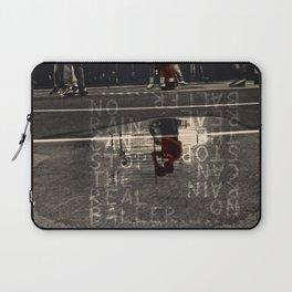 no rain can stop the real baller Laptop Sleeve
