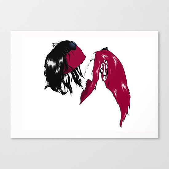 Rock 'n' Roll xxx Canvas Print