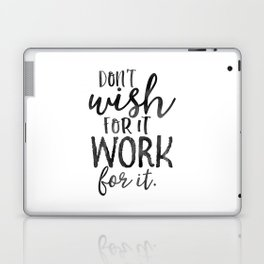 MOTIVATIONAL WALL DECOR, Don't Wish For It Work For It,Work Hard Stay Humble,Be Kinds,Office Sign,Of Laptop & iPad Skin
