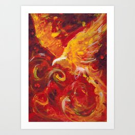 Pheonix Bright  Art Print
