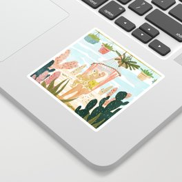 Desert Home Sticker