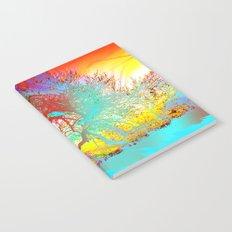 Rainbow Waves Notebook