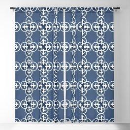 Floor Series: Peranakan Tiles 97 Blackout Curtain