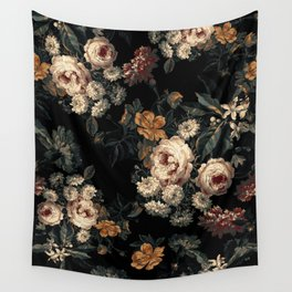 Midnight Garden XIV Wall Tapestry