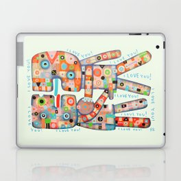 I Love You! Laptop & iPad Skin
