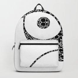 Perfect Balance 1 - Yin and Yang Stone Rock'd Art by Sharon Cummings Backpack