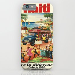 Advertisement haiti vive la difference galerie iPhone Case