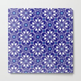 moroccan style tiles Metal Print