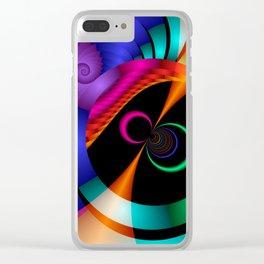 vice versa -4- Clear iPhone Case