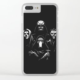 Star Queen Wars Clear iPhone Case