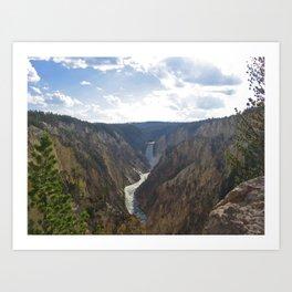 Waterfallin' Art Print