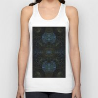techno Tank Tops featuring Techno Archeology by writingoverashes