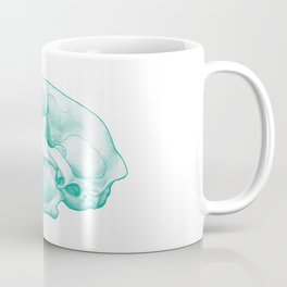 Cat Skull: Mint Coffee Mug