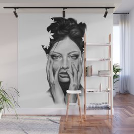 WOMAN EXPRESSION I Wall Mural