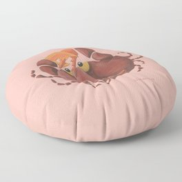 Cancer (rose) Floor Pillow