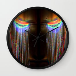 iron-boy don't cry Wall Clock