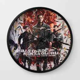 Senza Gloria Wall Clock