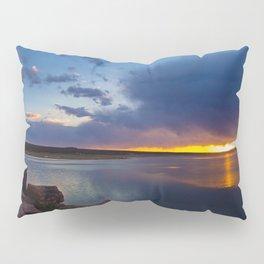 Bluewater Lake Sunset Pillow Sham