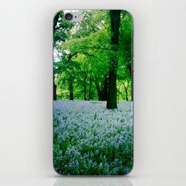 Violet Fields 2 iPhone Skin