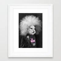 ramones Framed Art Prints featuring GABBA GABBA HEY by Julia Lillard Art