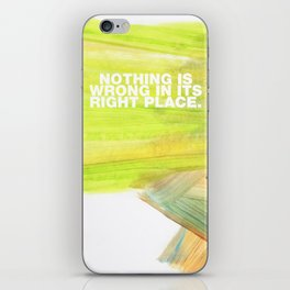 SUNDAYS ARE FOR SOULMATES / Nothing is wrong iPhone Skin