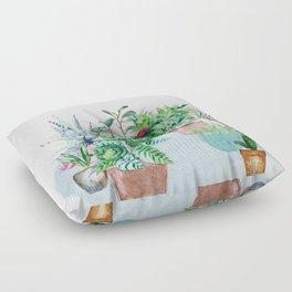 Plants 2 Floor Pillow