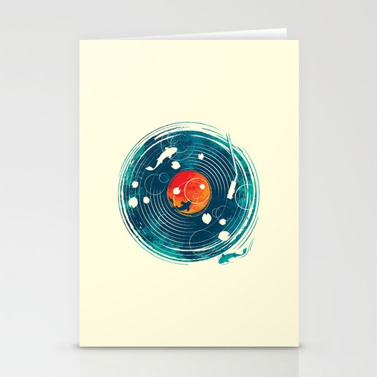 Sound of Water Stationery Cards