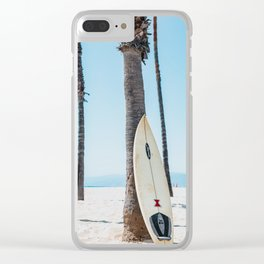 Surfing Day Clear iPhone Case