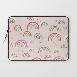 Colorful rainbows magic dreams kawaii sky kids Laptop Sleeve