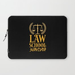 Lawyer - Law School Survivor Laptop Sleeve