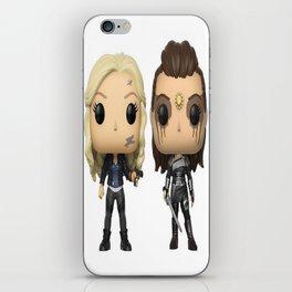 Clexa Toy iPhone Skin