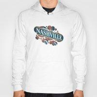 nashville Hoodies featuring Nashville by GF Fine Art Photography