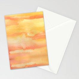 Apricot Sunset Stationery Cards