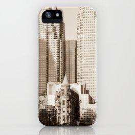 Toronto Flatiron Building iPhone Case