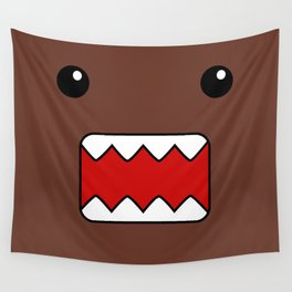 Domo Kun - Brown Japanese Monster Wall Tapestry