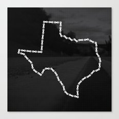 Ride Statewide - Texas Canvas Print