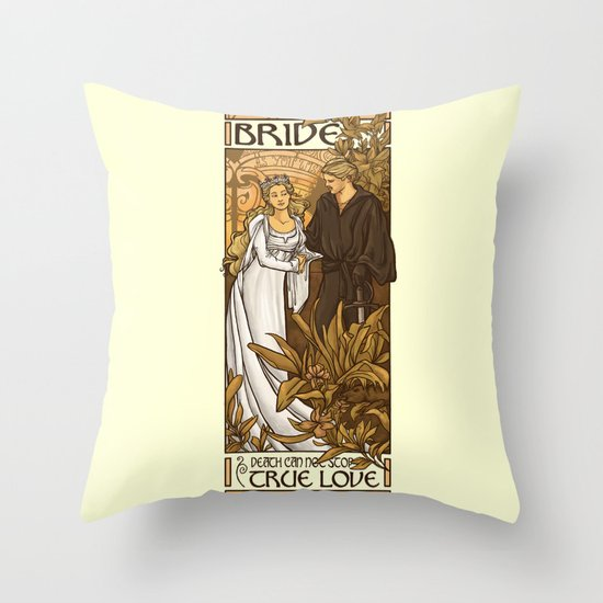 Bride Throw Pillow