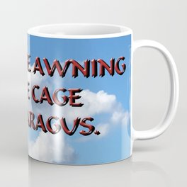 Cage of Asparagus Coffee Mug