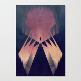here we are, caught up in this big rhythm  Canvas Print