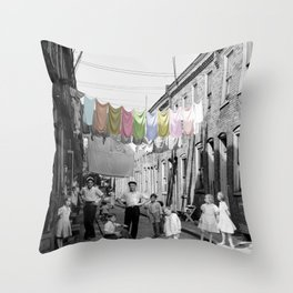 Laundry Day 2 Throw Pillow