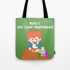 Rule #1: Eat your vegetables Tote Bag