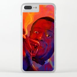 LOUIS ARMSTRONG Clear iPhone Case