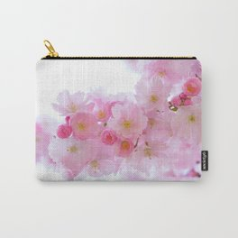 Closeup of a Blossoming Japanese Cherry Tree Carry-All Pouch