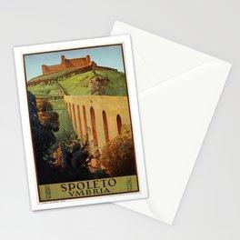 Spoleto Umbria 1927 Stationery Cards