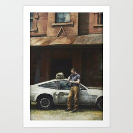 That Fleeting Moment Captured Art Print