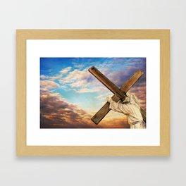 He has Risen Framed Art Print