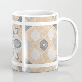 Terracotta Vintage Tiles Design Coffee Mug
