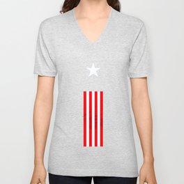 america flag Unisex V-Neck